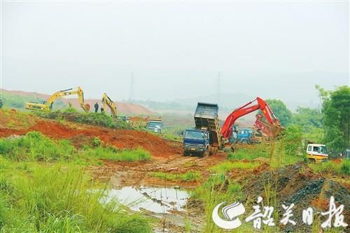武江区大力推进芙蓉新区路网建设 南华路建设加速推进