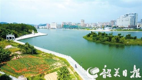 翁源县加快新城区建设