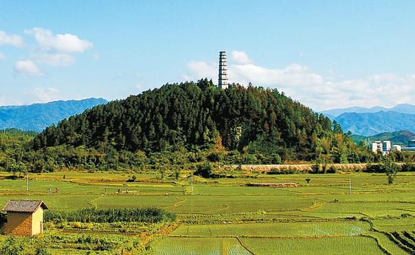 始兴宝塔山森林公园(资料图片).