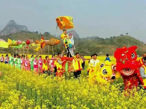 韶关农业学校校园风景